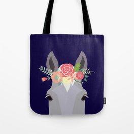 Flower Power - Grey Tote Bag
