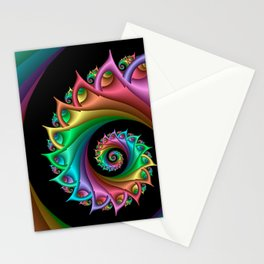 life is colorful -4- Stationery Cards