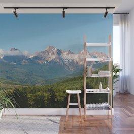 Sunny Mountain Summer Wall Mural