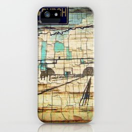 Distressed Compilation iPhone Case