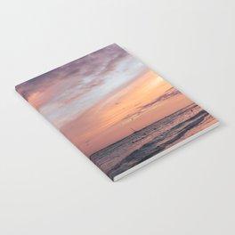 Cotten Candy Sunset Notebook