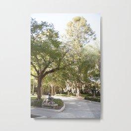 Dreamy Garden Path Metal Print