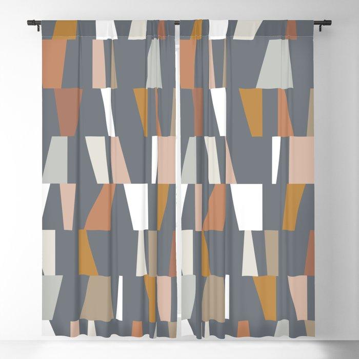 Neutral Geometric 02 Blackout Curtain