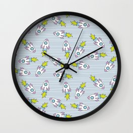 Whoa, We're in Space! Wall Clock