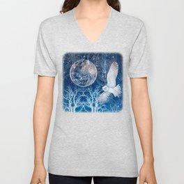 The Temple of the Full Moon Unisex V-Neck