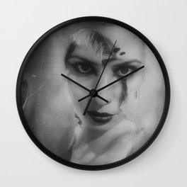 """""""dark delight"""" Wall Clock"""