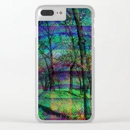 Forest Trip Clear iPhone Case