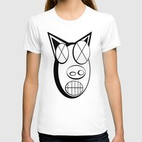 pig T-shirts featuring pig. by azyxz