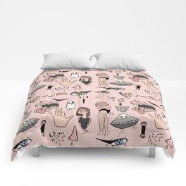 Doodle Print Comforters