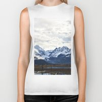 alaska Biker Tanks featuring Beautiful Alaska by Chris Root