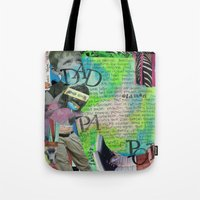 dad Tote Bags featuring Dad by Mary Klump Studio