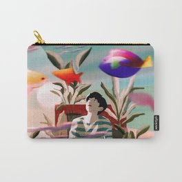 In this Dream Carry-All Pouch