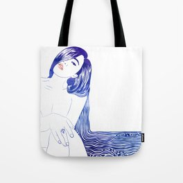 Water Nymph XL Tote Bag