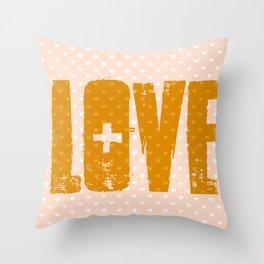 Love Crazed Throw Pillow