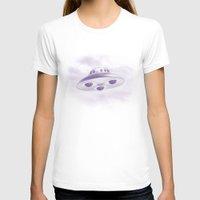 ufo T-shirts featuring UFO by Grafiskanstalt