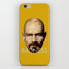 Male Pattern Badness iPhone & iPod Skin