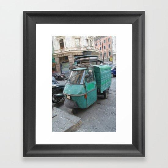 Tri motor Framed Art Print