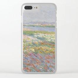 Tulip Fields near The Hague Clear iPhone Case