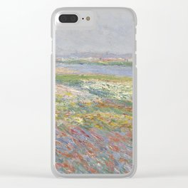 Tulip Fields near The Hague Clear iPhone Case