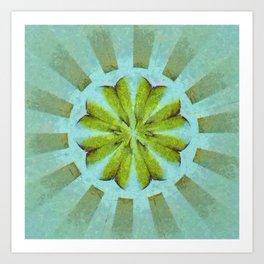 Tronk Peeled Flower  ID:16165-022118-01940 Art Print