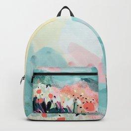 spring landscape Backpack