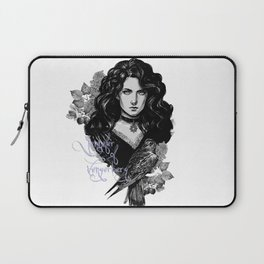 Lilac and gooseberry Laptop Sleeve