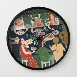 Wedding Feast Wall Clock