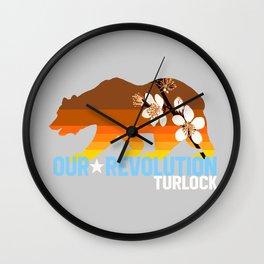 Our Revolution Turlock Wall Clock