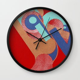 Gerald Laing in Rio Wall Clock