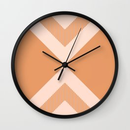 X Honey & Blush Wall Clock