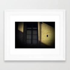Finestra Framed Art Print
