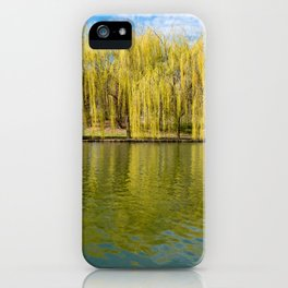 Willow trees. iPhone Case