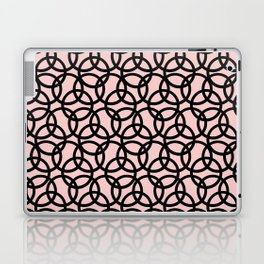 Olympica Black on Blush Laptop & iPad Skin