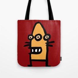 chalkboard wallies colorful pop art Tote Bag