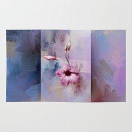 Painted Flowers Rug