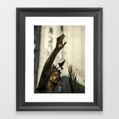 A Cry For Peace Framed Art Print