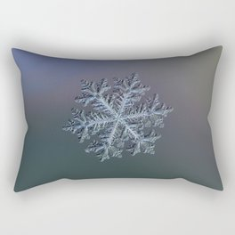 Real snowflake - Hyperion dark Rectangular Pillow