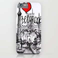 I love Belgrade iPhone 6 Slim Case
