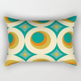 Mid-Century Modern Rectangular Pillow