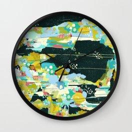 GARDEN IN SPACE Wall Clock