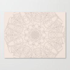 save the world - mandala art Canvas Print