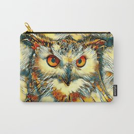 AnimalArt_Owl_20170912_by_JAMColorsSpecial Carry-All Pouch