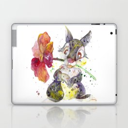 Thumper With Flower Laptop & iPad Skin