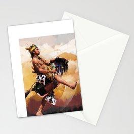 Horse braid (Kuda lumping) Stationery Cards