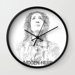 IMOGEN HEAP Wall Clock