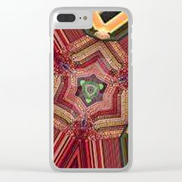 Stained Glass2 Clear iPhone Case