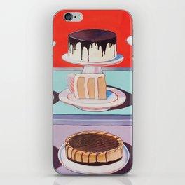 Cake on Display iPhone Skin