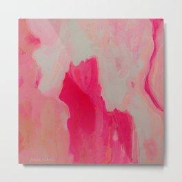 Summer Rosé Metal Print
