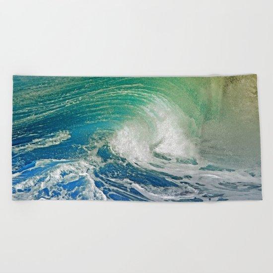 WAVE JOY 2 Beach Towel