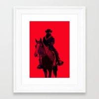 django Framed Art Prints featuring Django by MattGoughDesign